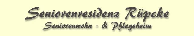 Logo Seniorenresidenz Rüpcke